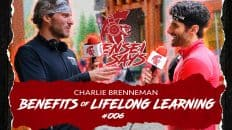 Lifelong Learning and Books that Change Lives w/Charlie Brenneman | Sensei Says Podcast